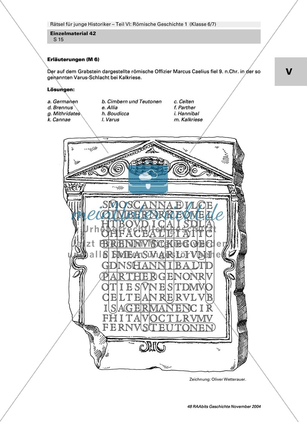 Antike: Rätsel und Spiele zur römischen Geschichte Preview 13
