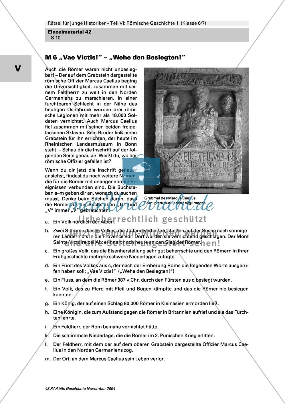Antike: Rätsel und Spiele zur römischen Geschichte Preview 8