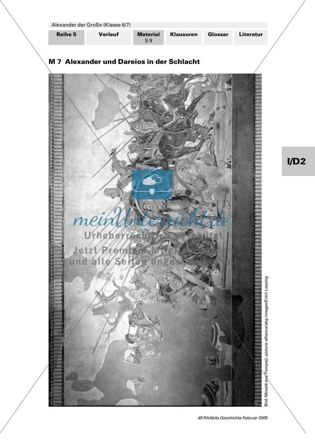 Alexander der Große: Eroberungsfeldzüge an Autorentexten, Karten, Bildern Preview 4