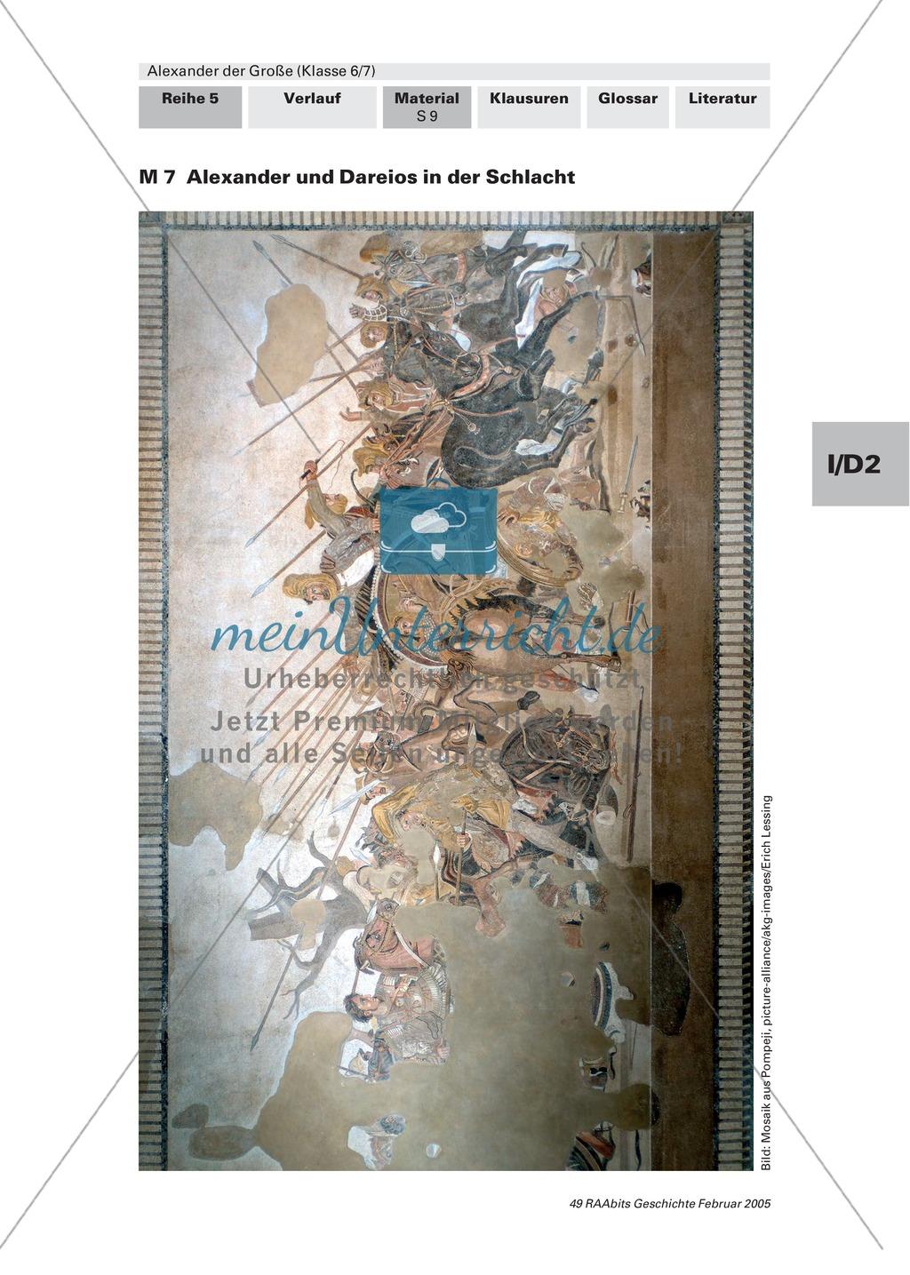 Alexander der Große: Eroberungsfeldzüge an Autorentexten, Karten, Bildern Preview 5