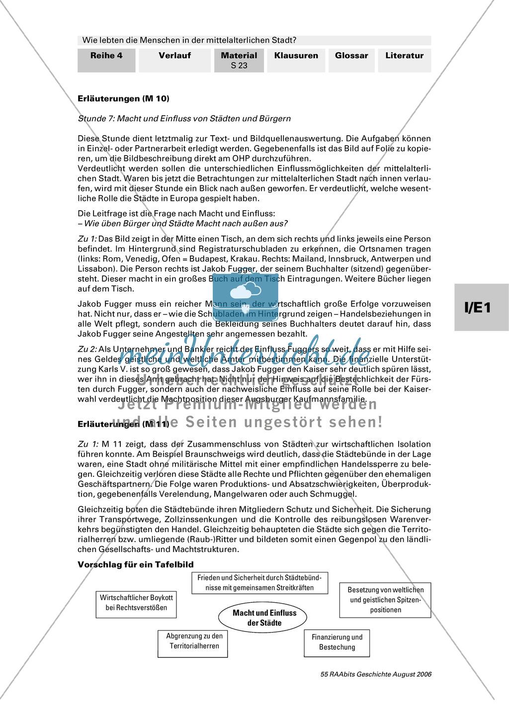 Patrizier, Bürger, Zunftgenosse: Entstehung der mittelalterlichen Stadt Preview 3