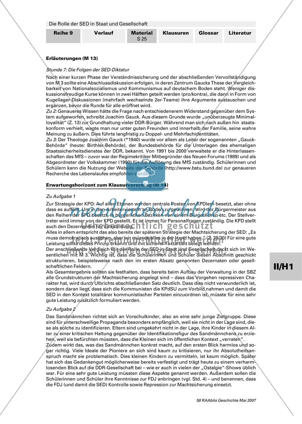 Die Rolle der SED in Staat und Gesellschaft. Preview 2