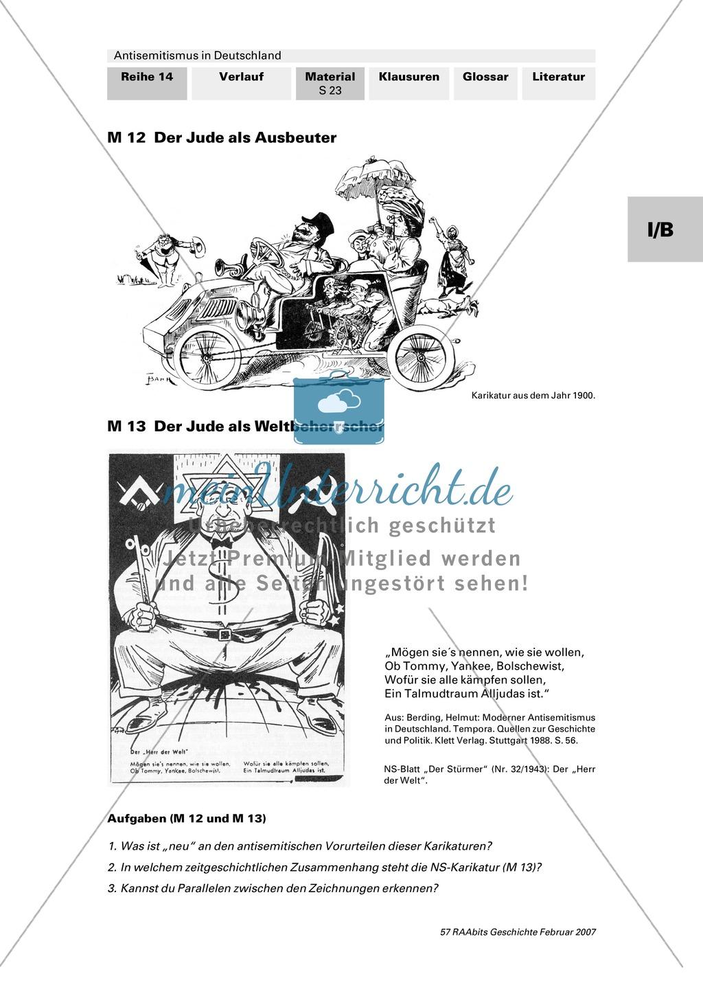 Antisemitismus in Deutschland: Juden im Kaiserreich: Zwischen Anpassung und Ausgrenzung Preview 1