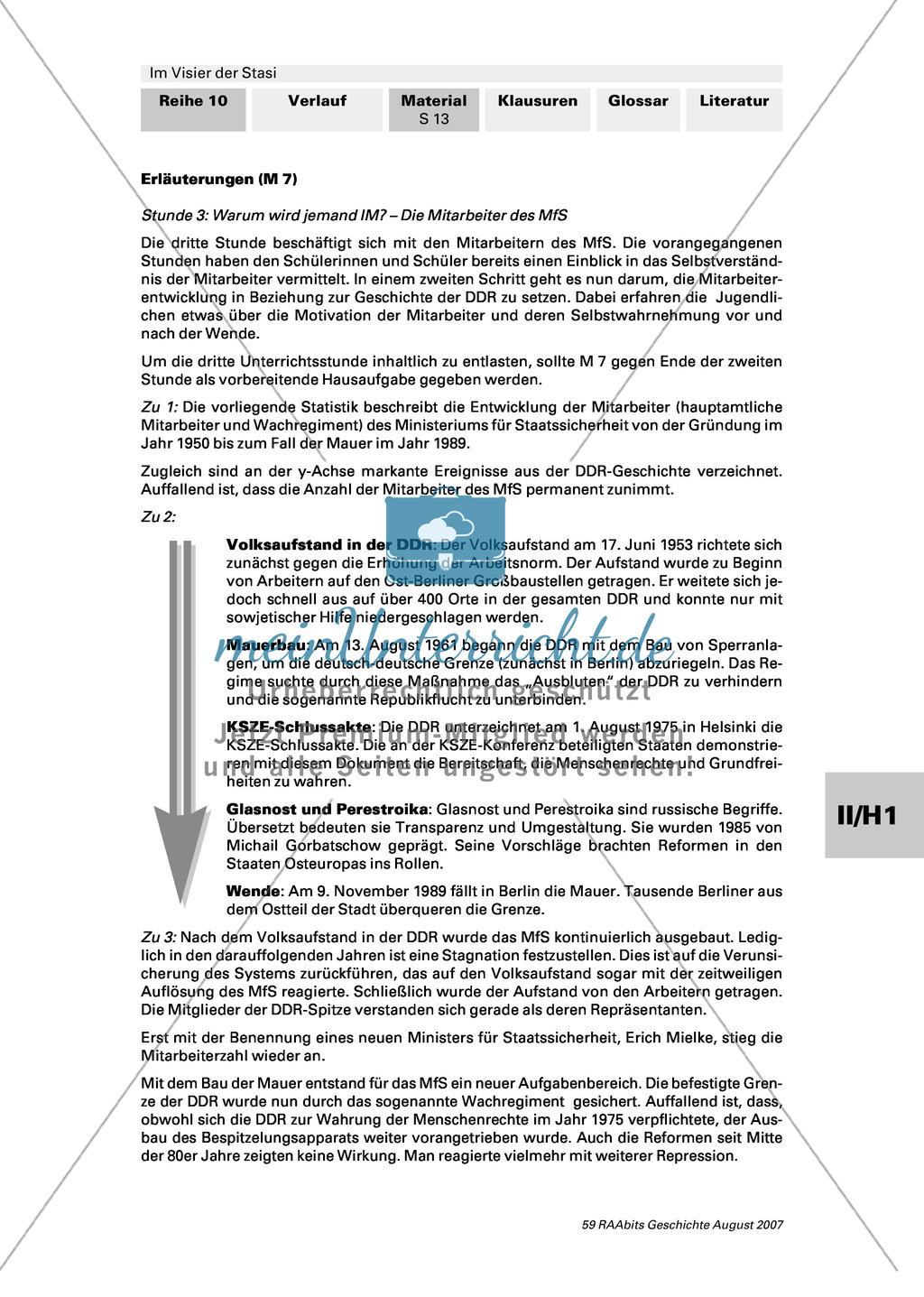 Die Stasi - Machtinstrument totalitärer Herrschaft: Die Mitarbeiter des MfS Preview 1