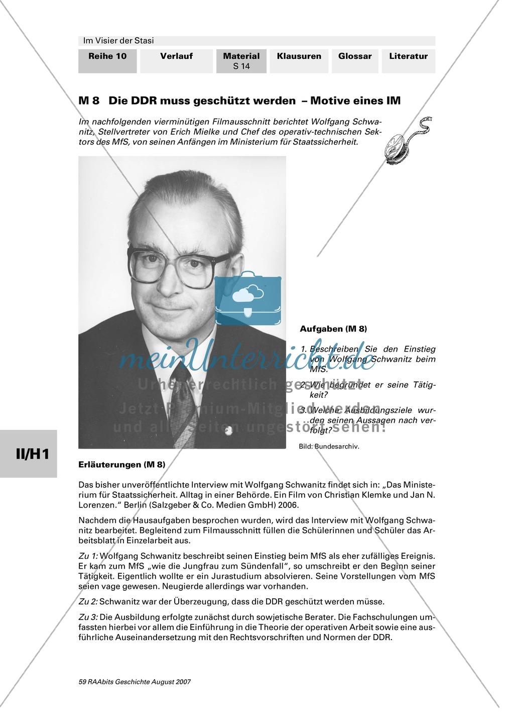 Die Stasi - Machtinstrument totalitärer Herrschaft: Die Mitarbeiter des MfS Preview 2