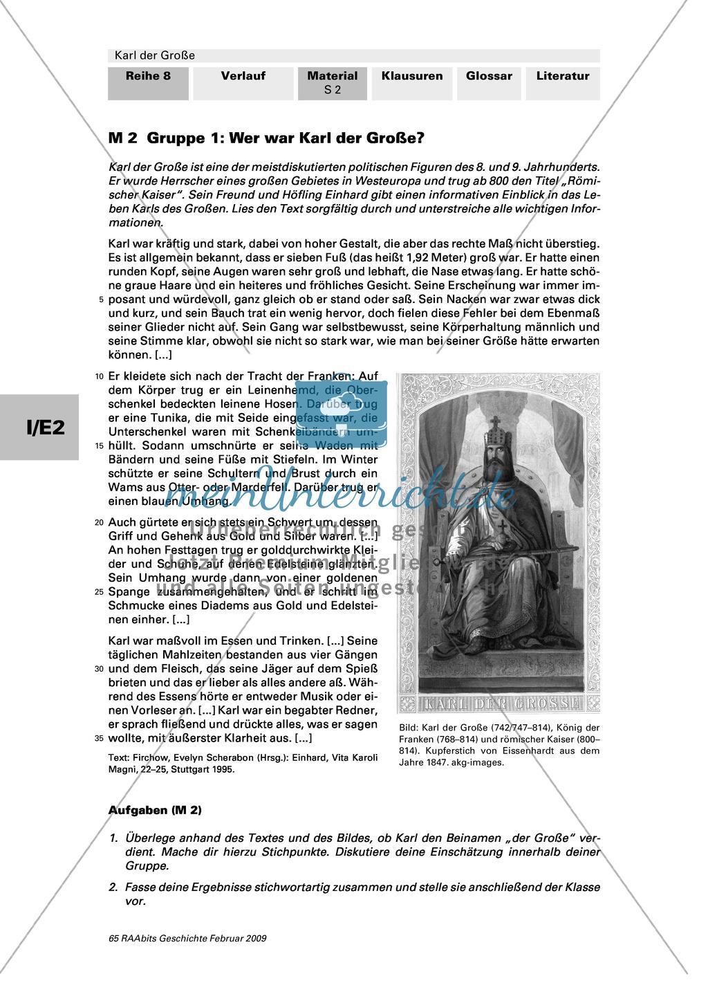 Karl der Große: Ein bedeutender Herrscher? Preview 3