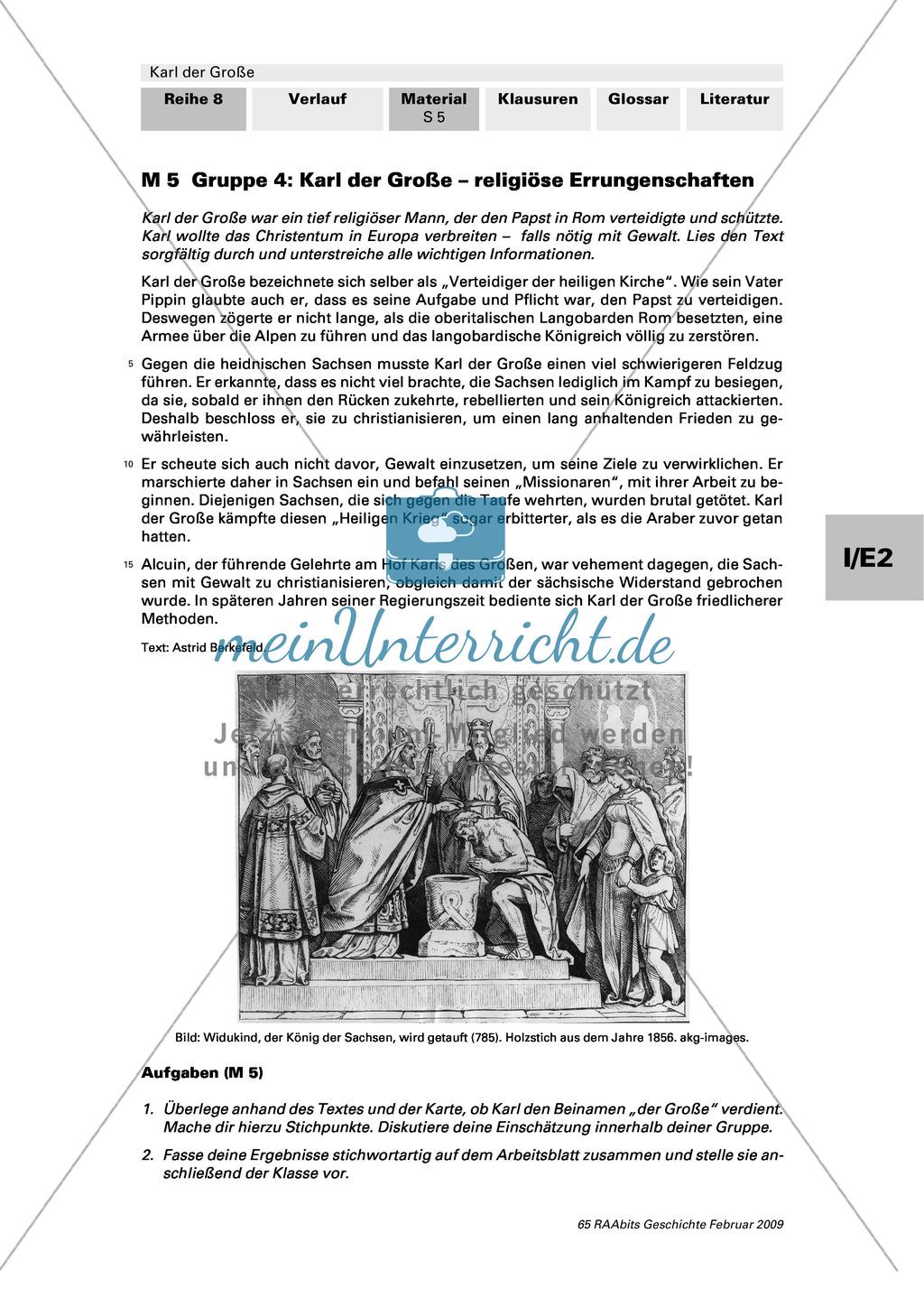 Karl der Große: Ein bedeutender Herrscher? Preview 6