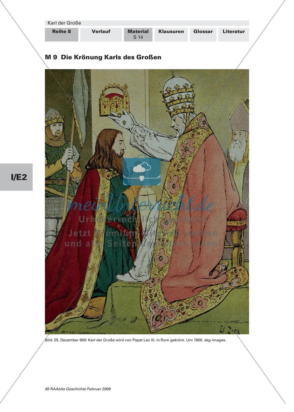 Karl der Große: Kaiserkrönung durch Leo III in Rom Preview 4