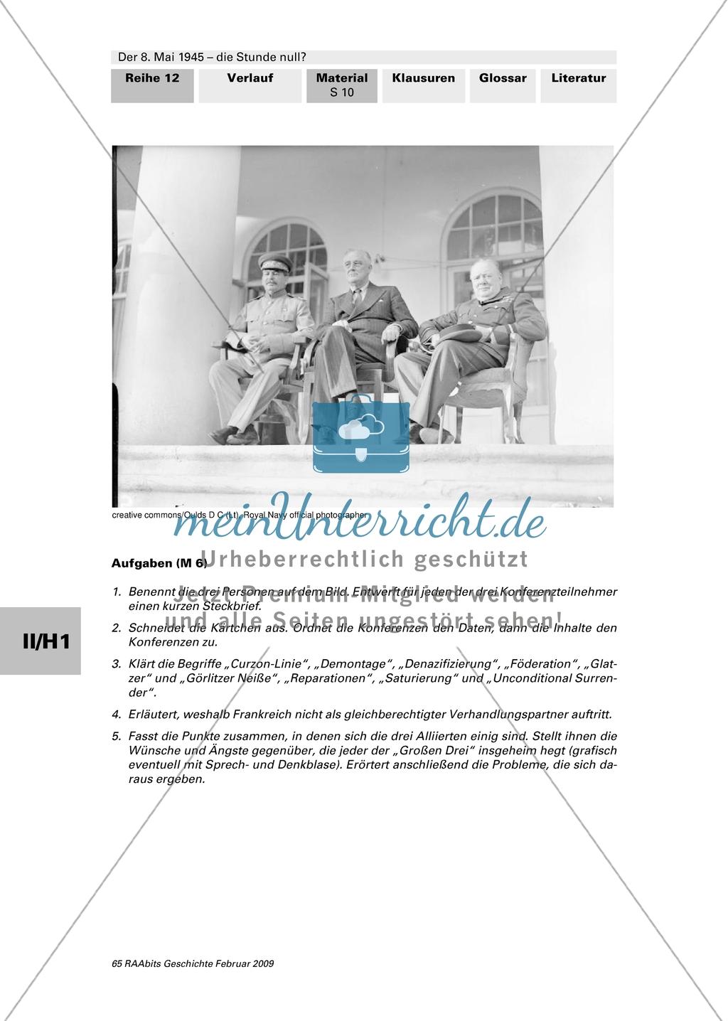 Casablanca,Jalta,Teheran:3 Konferenzen Preview 1