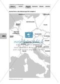Friedrich II. von Hohenstaufen: Lebensstationen Friedrichs in Stationen erarbeiten Preview 6