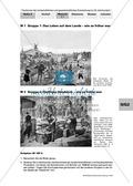 Tendenzen der wirtschaftlichen und gesellschaftlichen Entwicklung im 19. Jh.: Veränderung des alltäglichen Lebens durch die Industrialisiserung - einen Vergleich in Gruppenarbeit erstellen Preview 1
