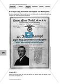 Der Aufstieg des Nationalsozialismus in der Weimarer Republik: Weimarer Verfassung und nationalsozialistische Weltanschauung: Werbeplakat: Adolf Hitler: