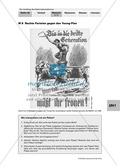 Der Aufstieg des Nationalsozialismus in der Weimarer Republik: Karikatur: Hitler und Versailler Vertrag in amerikanischer Zeitschrift + Text: Der Versailler Vertrag + Plakat: Rechte Parteien gegen den Young-Plan Preview 3