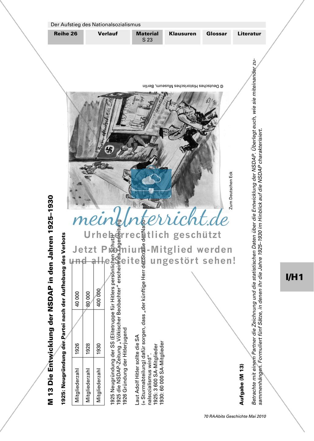Der Aufstieg des Nationalsozialismus in der Weimarer ...