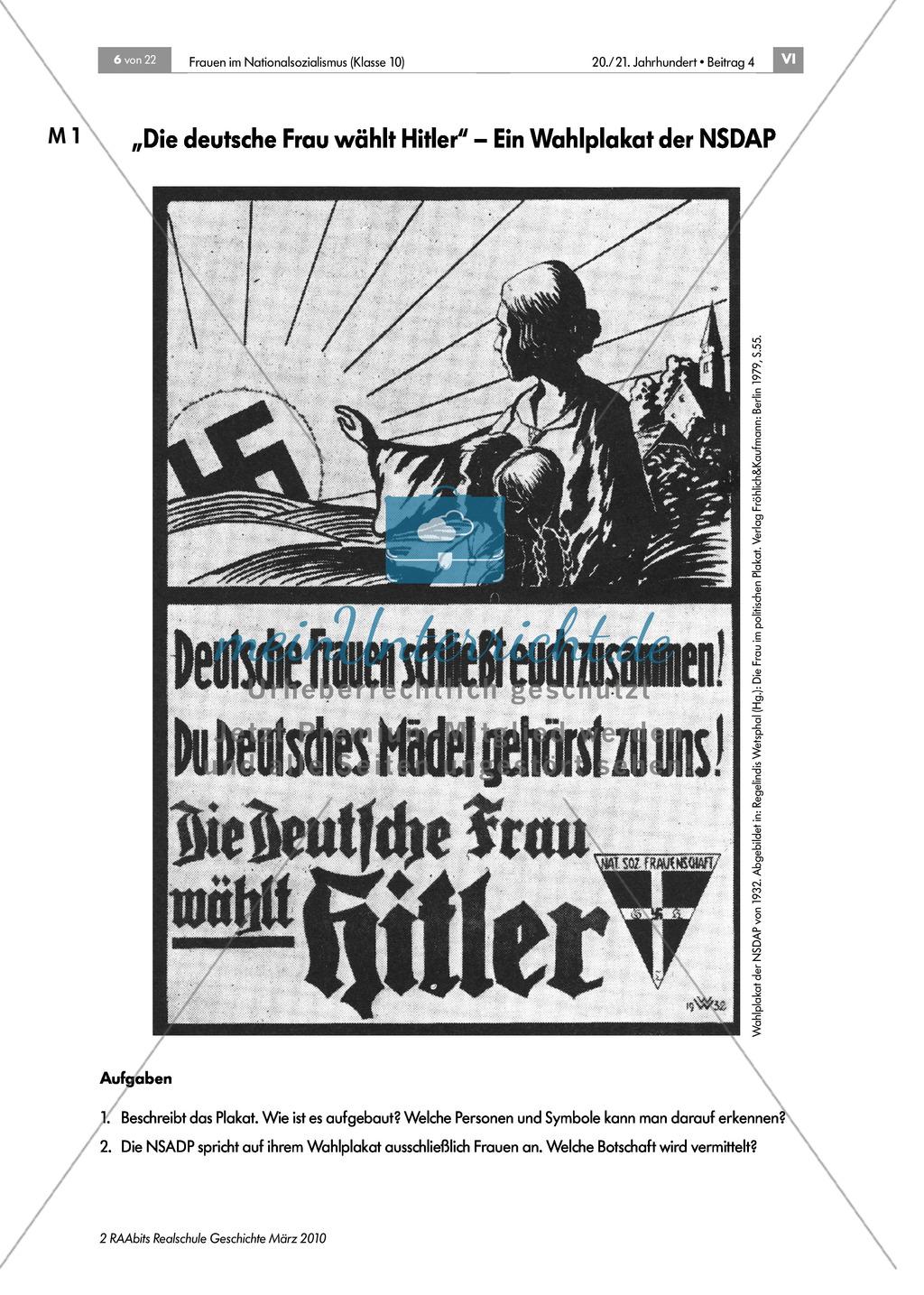 Frauen im Nationalsozialismus: Propaganda Preview 0