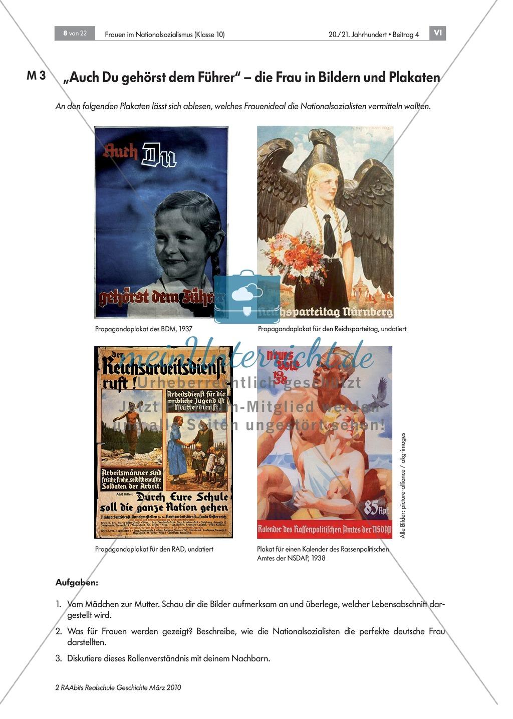 Frauen im Nationalsozialismus: Propaganda Preview 2