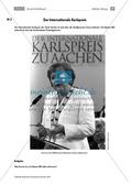 Geschichte, Handlungs- und Kulturräume, Epochen, Leitprobleme, Deutsche Geschichte, 20. Jahrhundert bis zur Gegenwart, Historische Akteure, Angela Merkel, Karlspreis, Karl der Große, interview