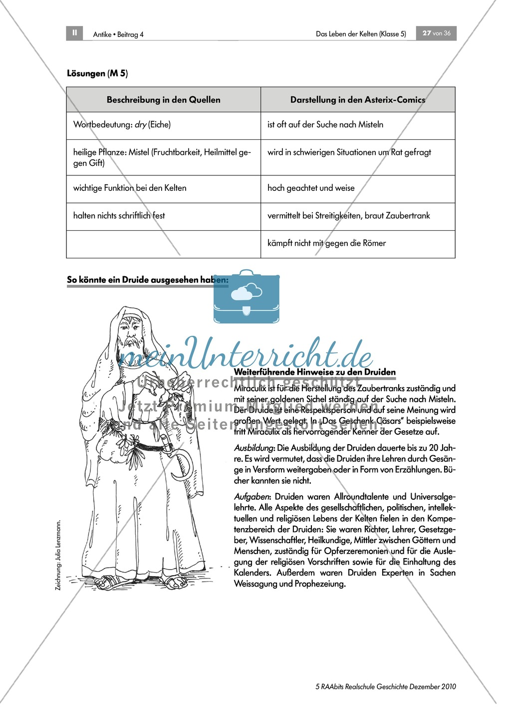 Barden, Druiden, Krieger: Kelten im Vergleich zu den Asterix-Comics Preview 7