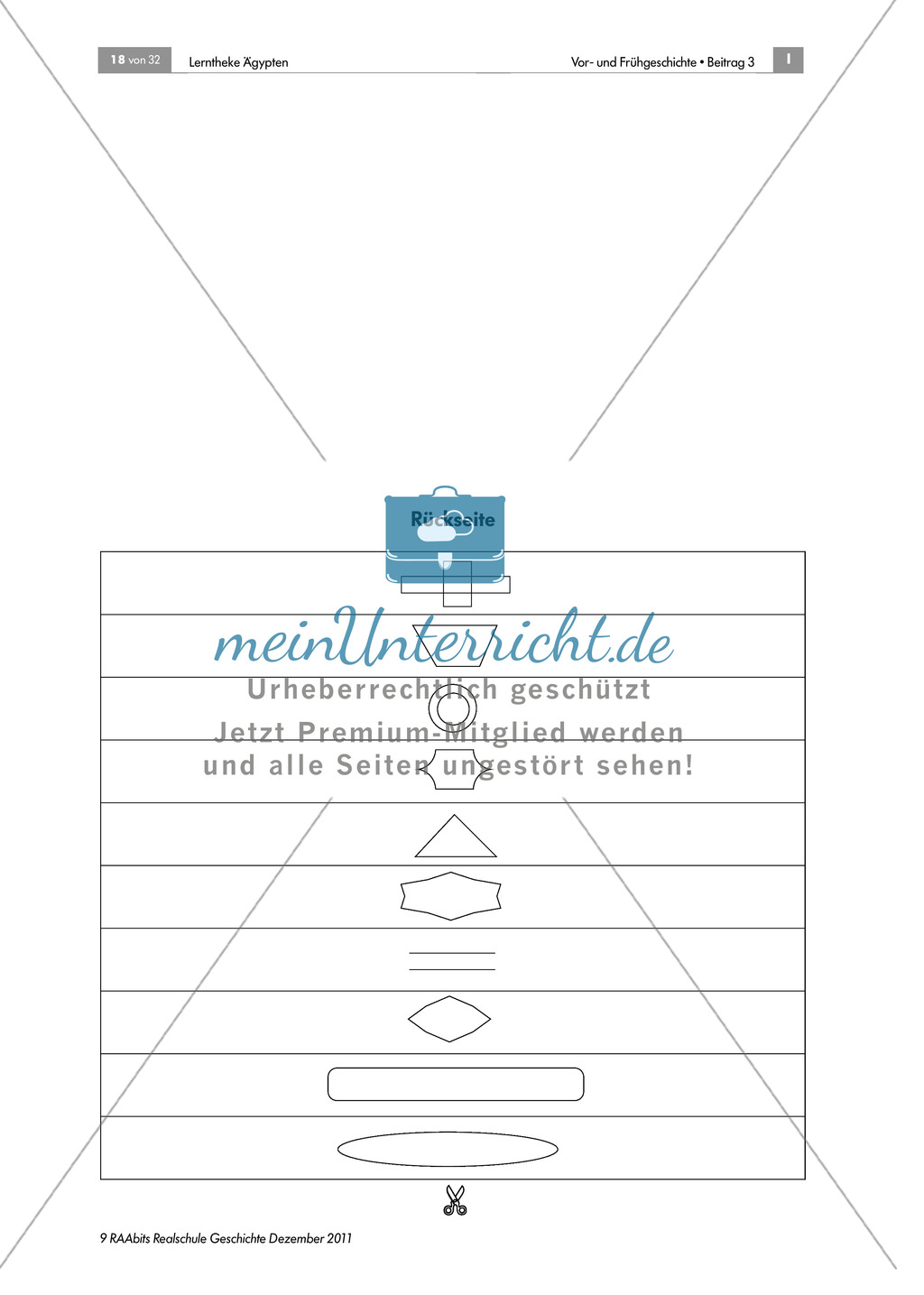 Papyrusherstellung: Anleitung + didaktische Hinweise Preview 2