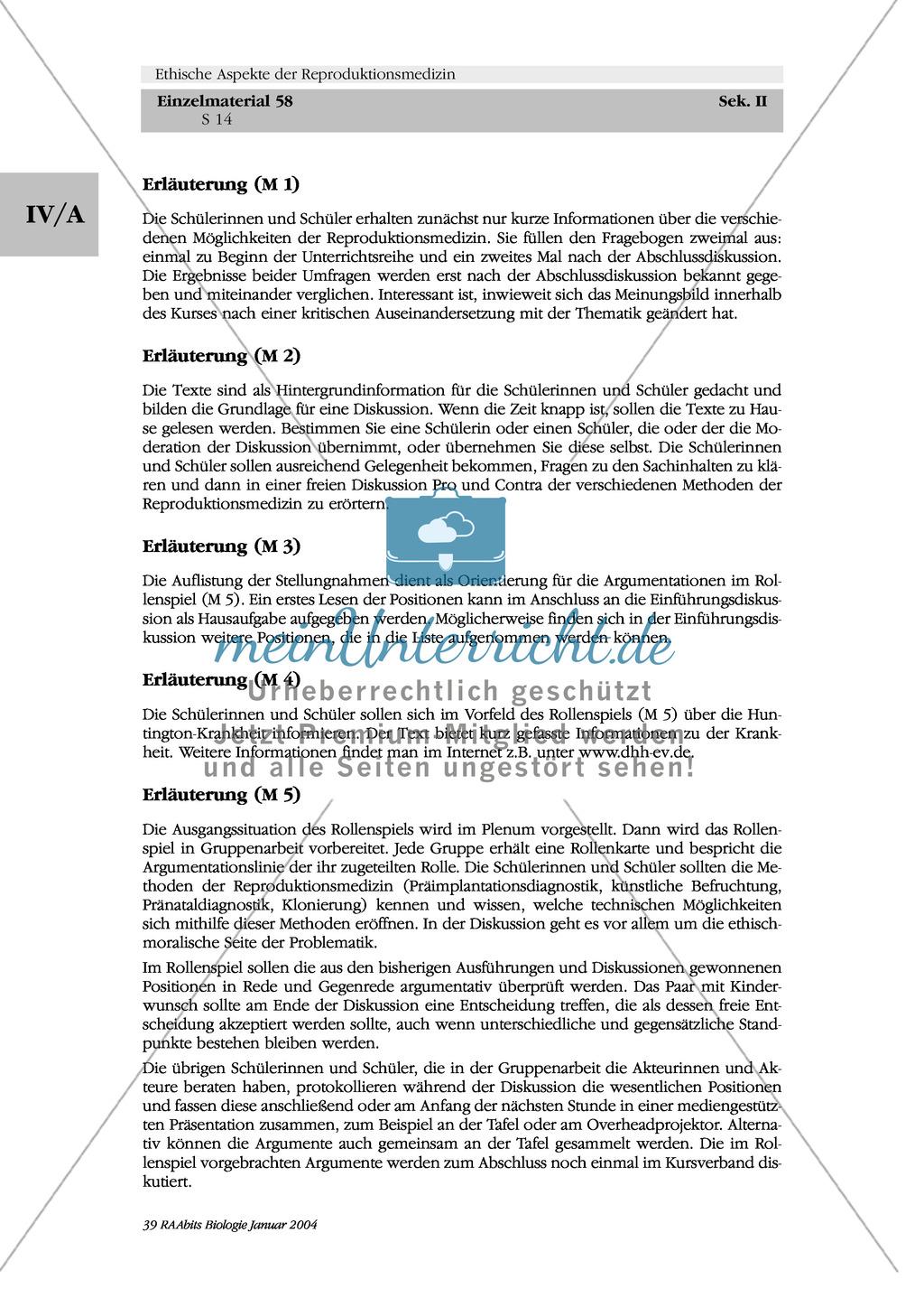 Ethische Aspekte der Reproduktionsmedizin: Pro + Contra Preview 3