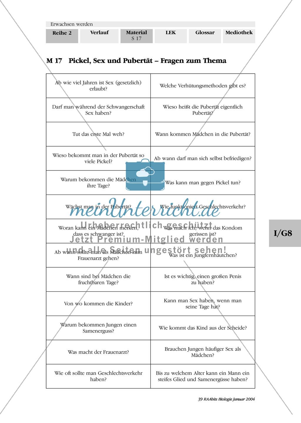 Arbeitsblätter Zu Juchli Pflege : Unterrichtsreihe pubertät zitat von sokrates über die