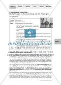 Umweltfaktor Temperatur - Beobachtungen im Zusammenhang mit den Klimaregeln Preview 1