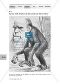 Erarbeiten der Biographie von Charles Darwin mit Zugang zur Darwinschen Evolutionslehre.Mit Lösungen. Preview 1