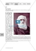 Erarbeiten der Biographie von Charles Darwin mit Zugang zur Darwinschen Evolutionslehre.Mit Lösungen. Preview 3