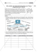 Überwinterung und Fütterung von Vögeln: Stationsarbeit, Herstellung einer Broschüre Preview 9