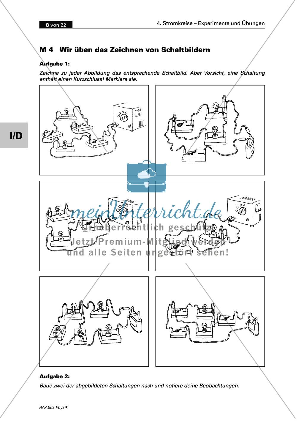 Schön Symbole Von Stromkreisen Bilder - Der Schaltplan - triangre.info