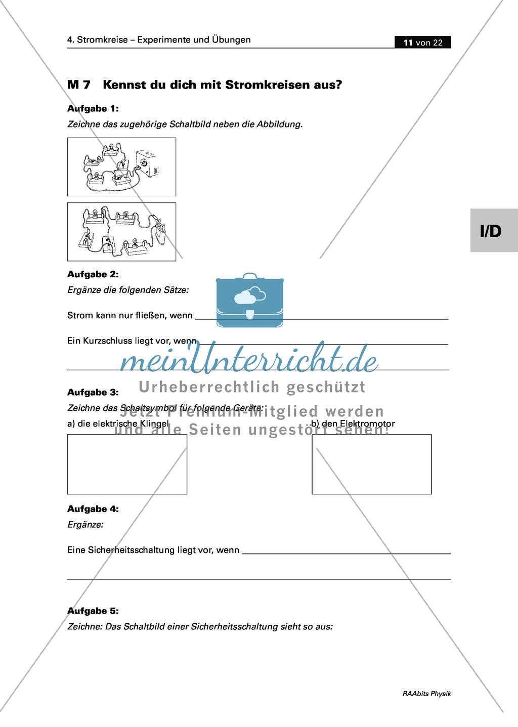 Ziemlich Wie Zeichne Stromkreise Zeitgenössisch - Die Besten ...