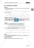 Mechanik: Erarbeitung des Unterschieds zwischen Masse und Gewichtskraft mit Aufgaben und Lösungen und Selbstbau von Messgeräten. Preview 2
