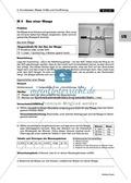 Mechanik: Erarbeitung des Unterschieds zwischen Masse und Gewichtskraft mit Aufgaben und Lösungen und Selbstbau von Messgeräten. Preview 6
