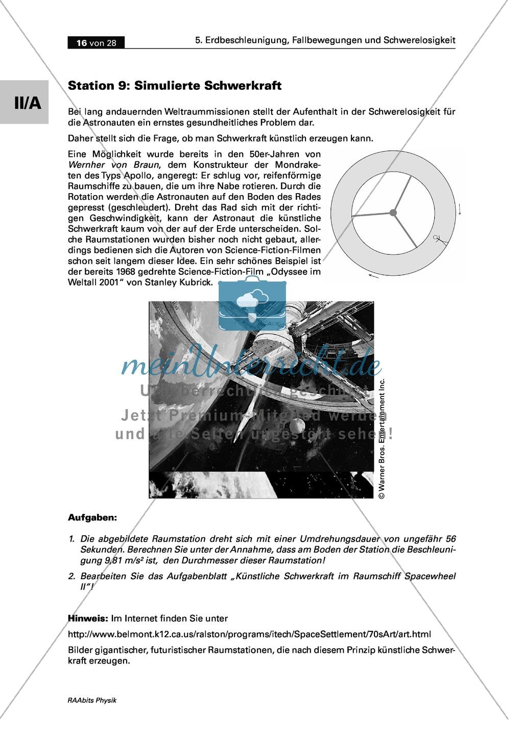 Groß Kreisbewegung Und Der Gravitation Arbeitsblatt Bilder - Mathe ...