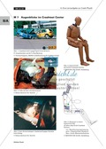 Mechanik: Physik eines Auto-Crashes mit Experiment, Aufgaben und Lösungen. Preview 19