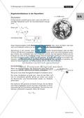 Bewegungen im Gravitationsfeld: Kegelschnittbahnen - Abhängigkeit der Bahnform von der Startgeschwindigkeit Preview 3