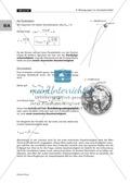 Bewegungen im Gravitationsfeld: Kegelschnittbahnen - Abhängigkeit der Bahnform von der Startgeschwindigkeit Preview 8