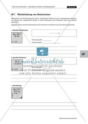 Physik: Arbeitsblätter für Klasse 8 | meinUnterricht