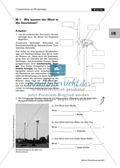 Physik, Mechanik, Energie, Elektrizitätslehre, alternative Energien, Windkraft, Strom, Energiewandlungsketten, Stromerzeugung
