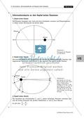 Astrophysik: Die Keplerschen Gesetze und ihr Zusammenhang mit den Jahreszeiten - Aufgaben und Lösungen Preview 3