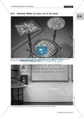 Stehende Welle: Experimente mit dem Gummiband - Erzeugen einer stehenden Welle + stehende Wellen im Labor + in der Kunst Preview 2