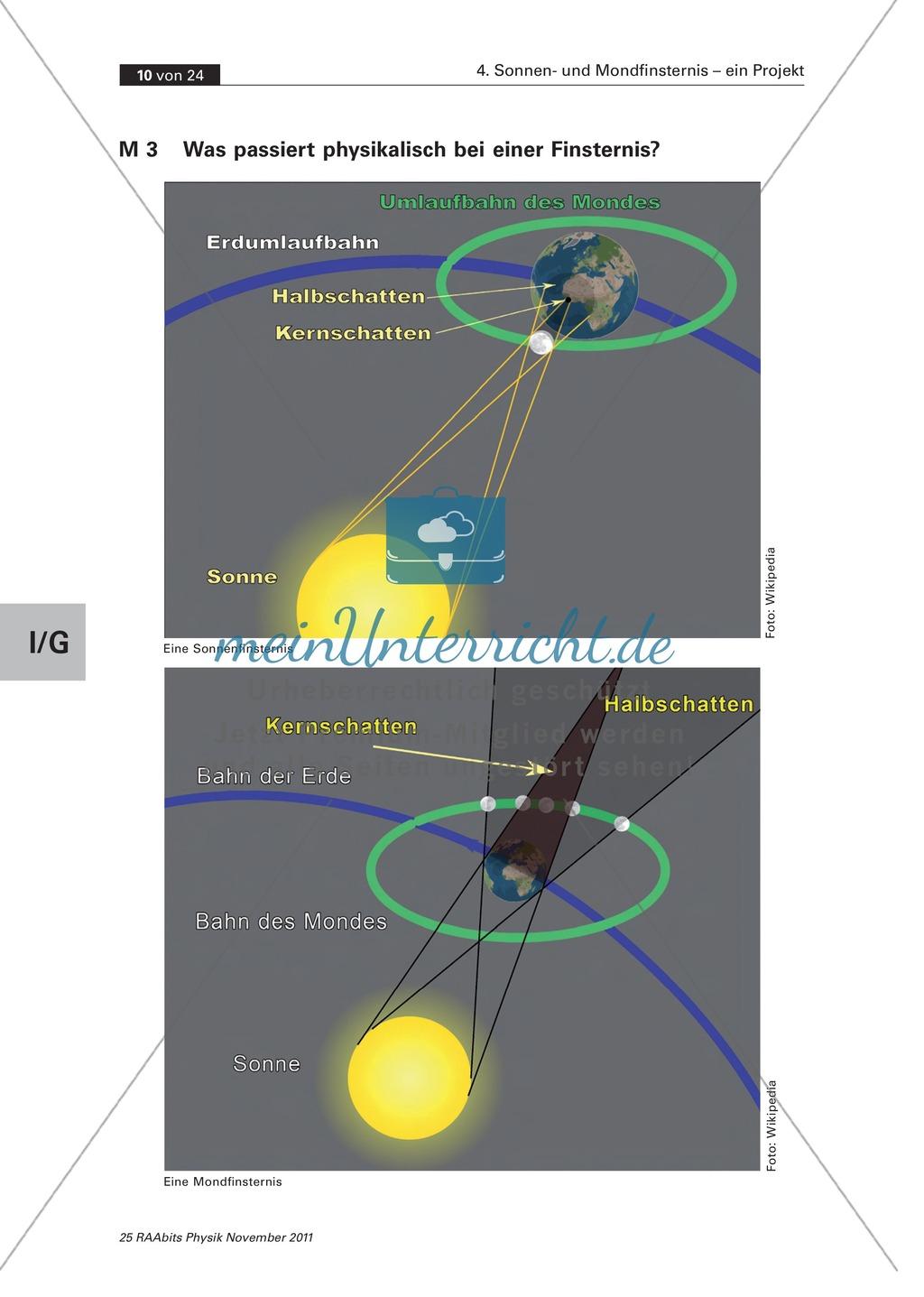 Sonnen- und Mondfinsternis: Der Verlauf + Geschichte von Finsternissen Preview 1
