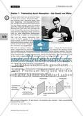 Das Hertz'sche Gitter als Analysator/ Einfach – polarisiertes Licht herstellen/ Stationenzirkel Preview 4