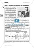 Polarisation von Licht: Polarisation durch Absorption - Das Gesetz von Malus + Experiment Preview 1