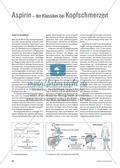 Arzneimittel: Die Wirkungsweisen und Nebenwirkungen von Aspirin. Mit didaktischen Erläuterungen. Preview 1