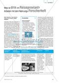 Forscherheft für Versuche mit Nahrung und Lebensmitteln Preview 1