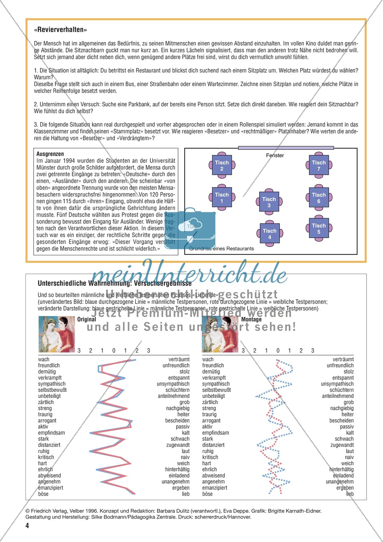 Kommunikation durch Mimik und Gestik erkennen und bewerten Preview 3