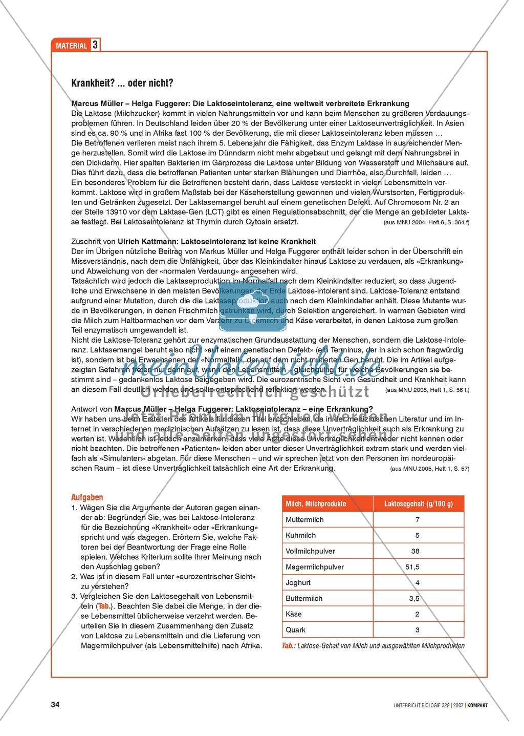 Alltagsvorstellungen zur Genetik: Genfunktion, Genregulation und Mutation: Info-Text und Aufgaben Preview 5
