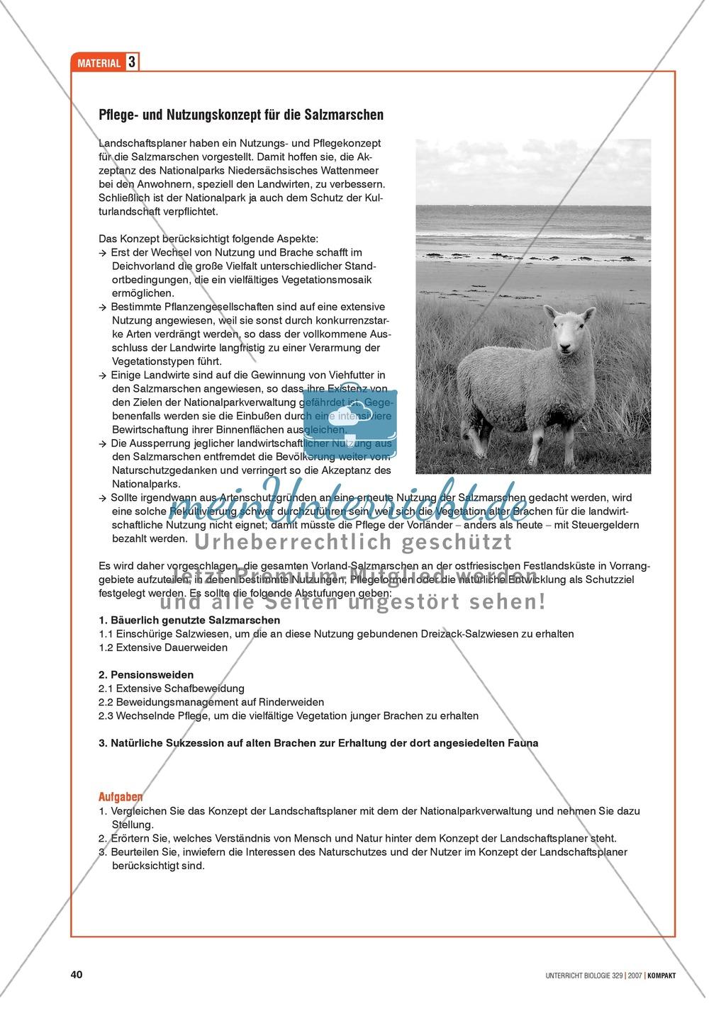 Alltagsvorstellungen zur Ökologie - Mensch und Natur: Info-Text und Aufgaben Preview 6