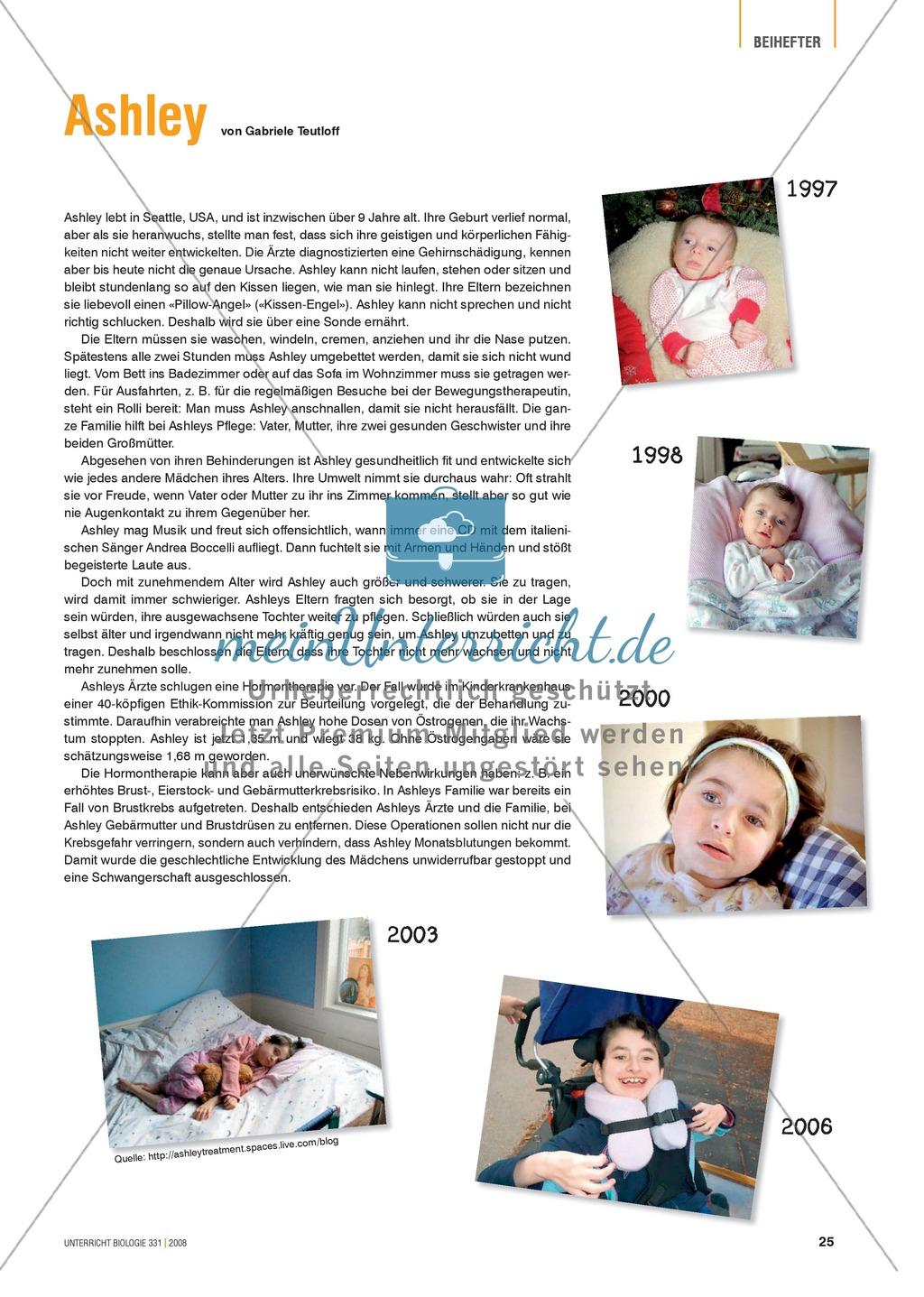 Signalstoffe: Der Fall Ashley - Merkmale und Behandlungsmöglichkeiten von Hormonstörungen Preview 0